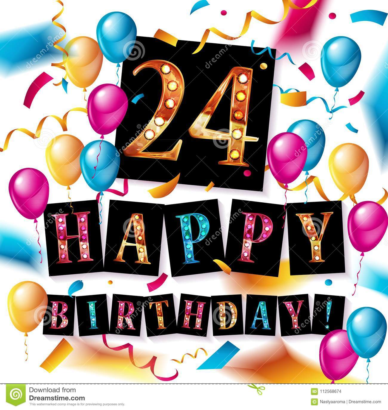 24th Anniversary Celebration Logotype