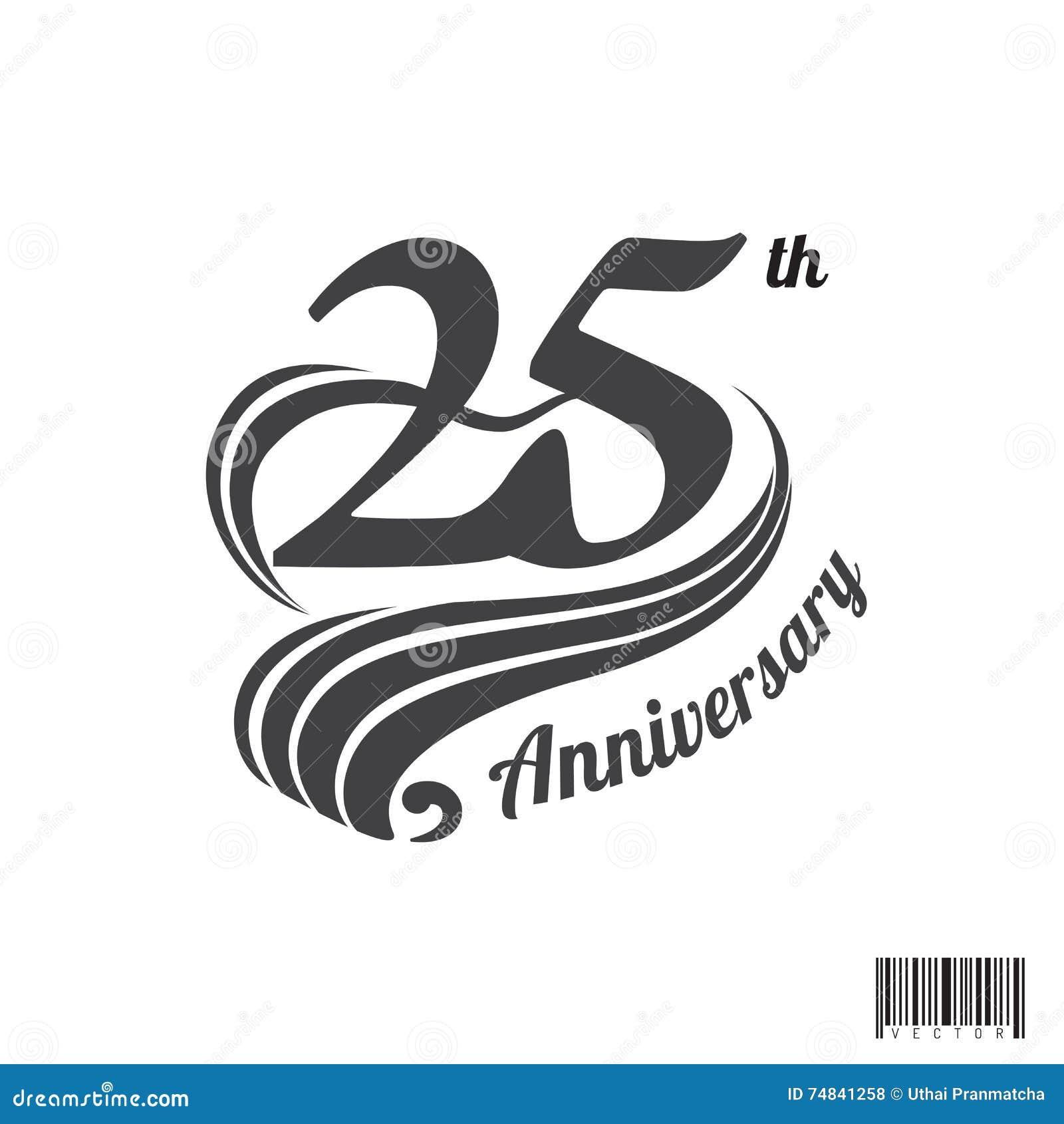 Th Year Anniversary Logo T Shirt Design