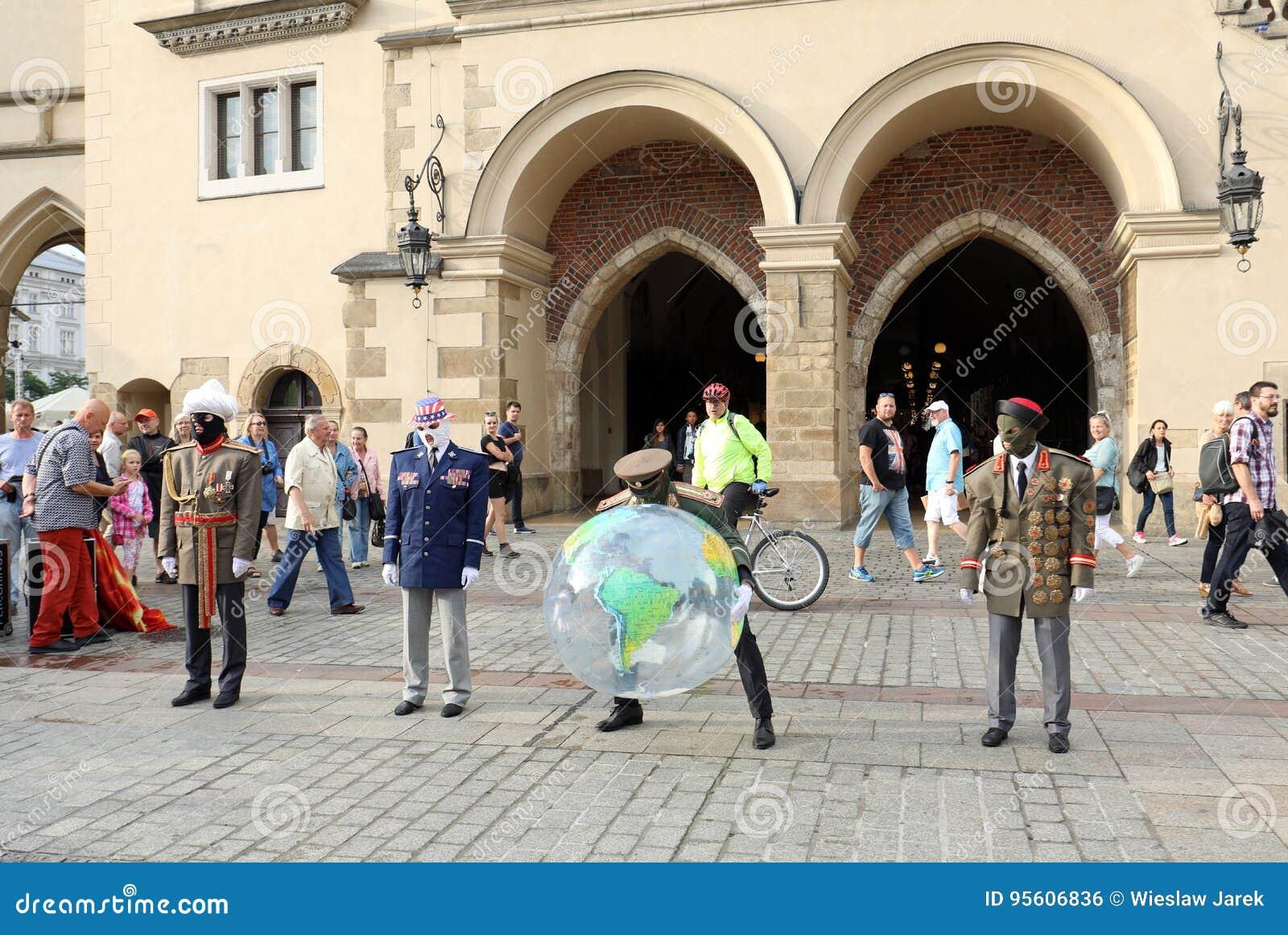 30th gata - internationell festival av gatateatrar i Cracow, Polen
