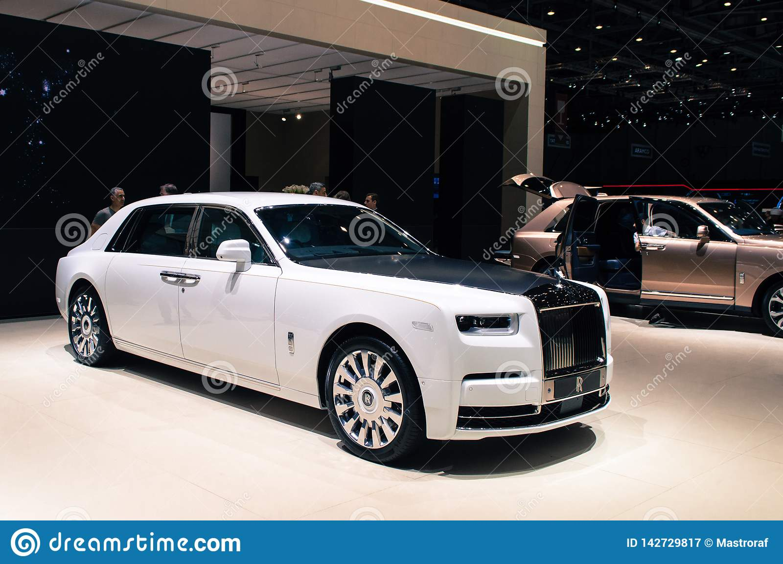 Rolls Royce Phantom At Geneva 2019 Editorial Photography Image Of Switzerland Cullinar 142729817