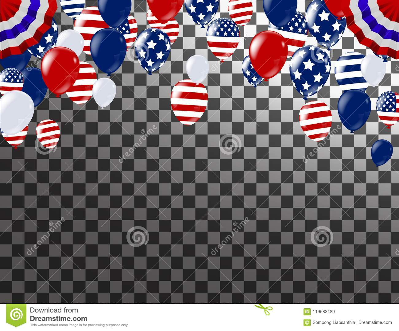 61ae1f5f0db 4th Of July Happy Independence Day USA. White