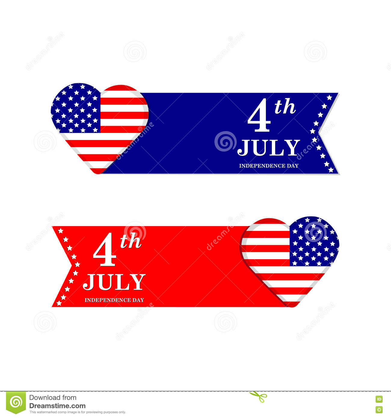 4th Of July Independence Day United States Of America Symbols