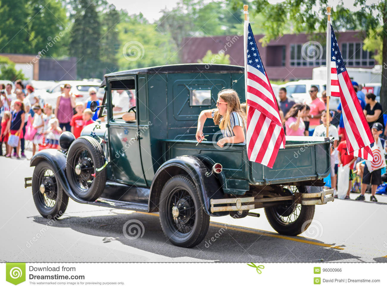 American Flag Vintage Pickup Truck Photos Free Royalty Free Stock Photos From Dreamstime