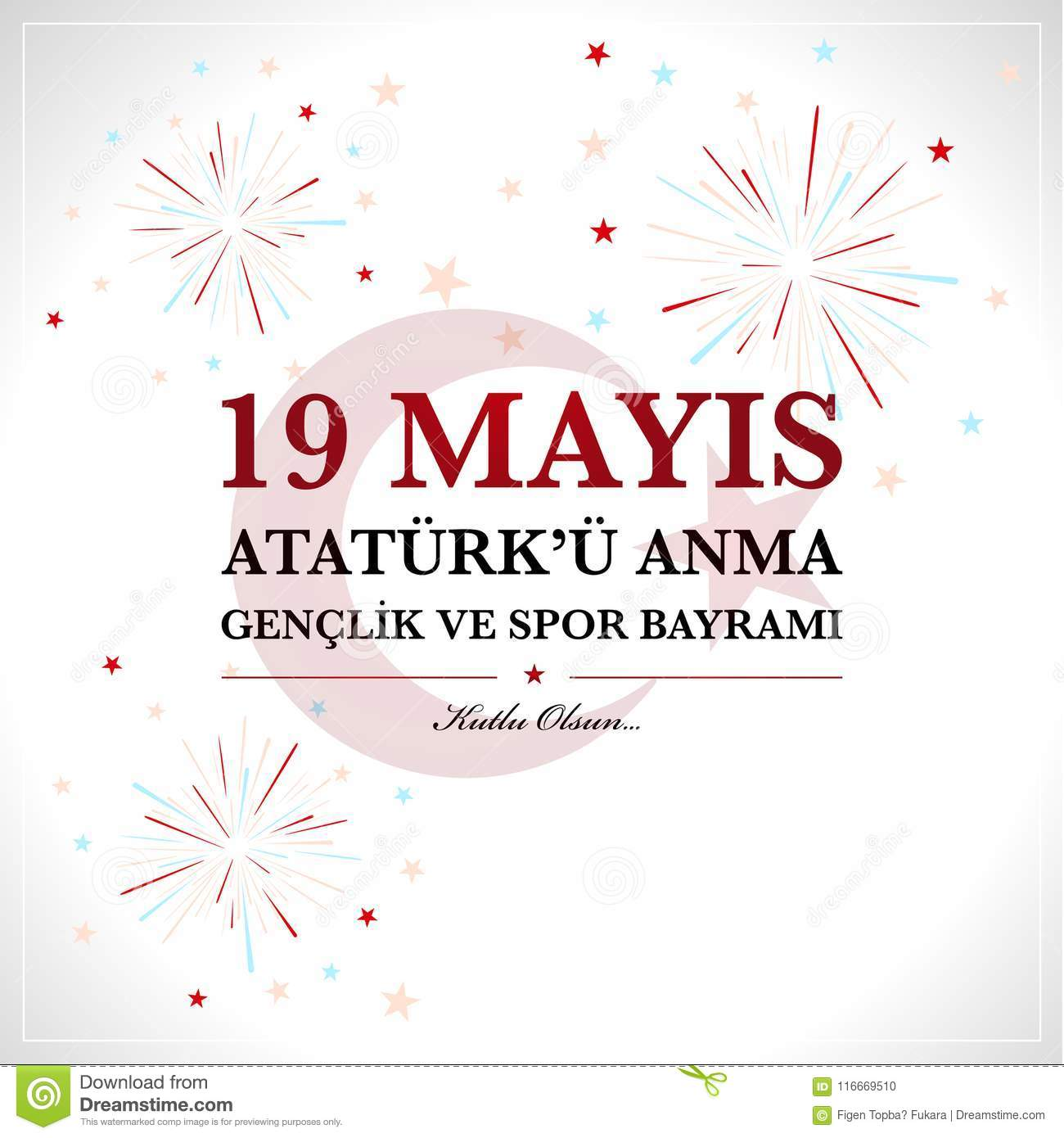 19th may commemoration of Ataturk, Youth and Sports Day.