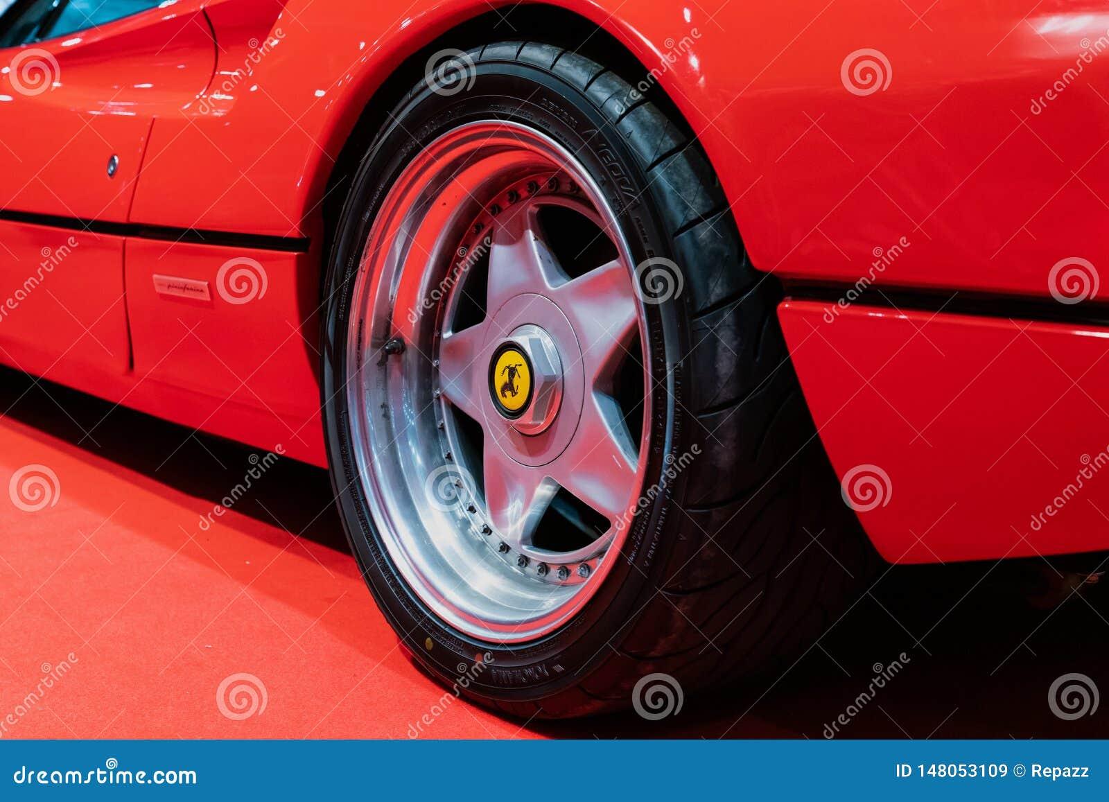 Speedline Alloy Wheels On Ferrari 308 Editorial Stock Image Image Of Racing Auto 148053109