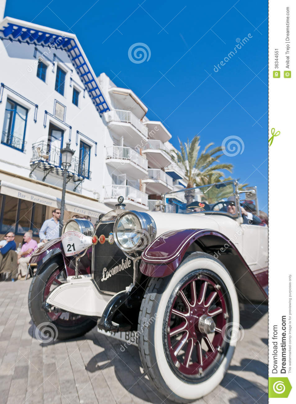 54th rally barcelona sitges second phase race editorial - Mobles vintage barcelona ...