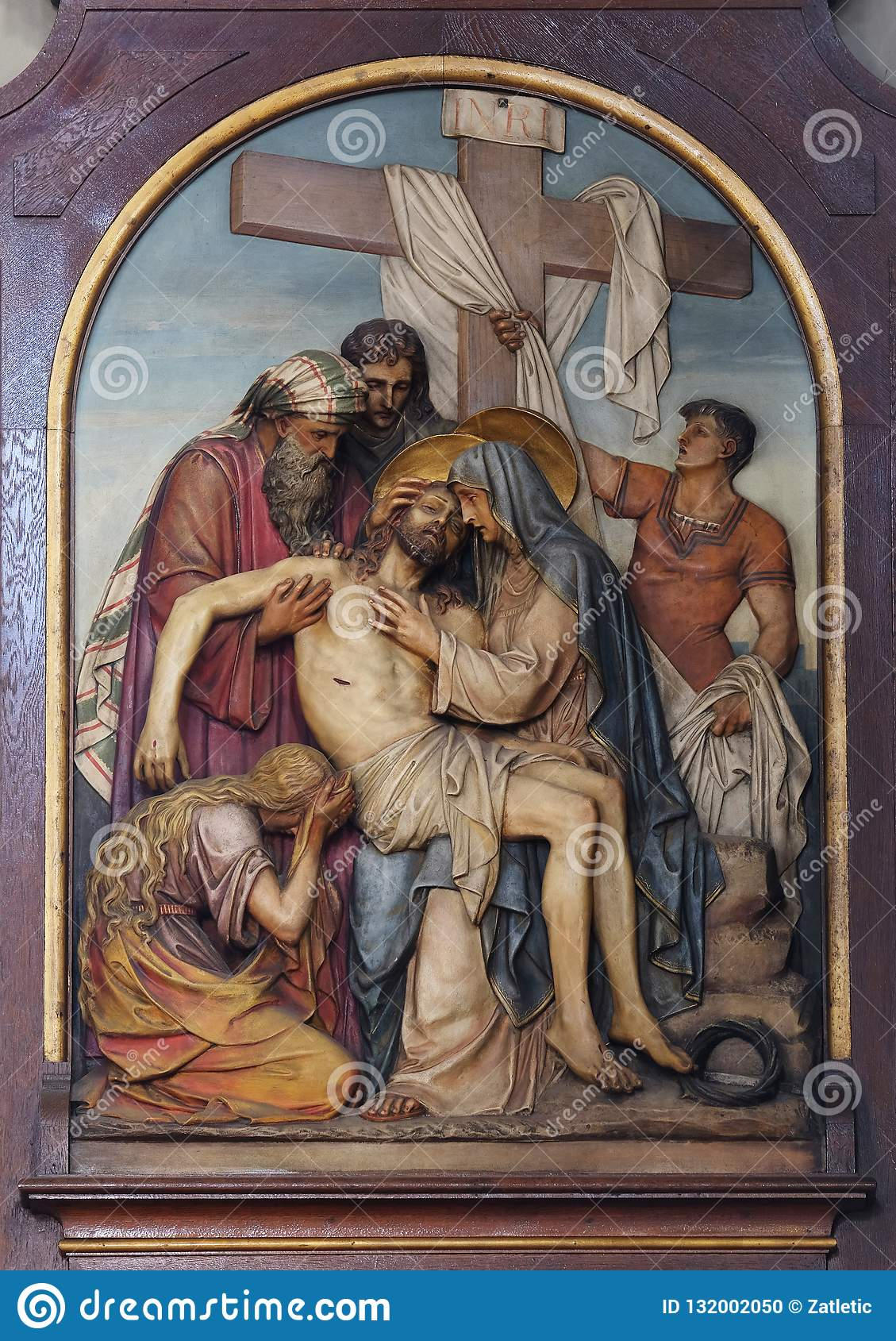 13th Stations of the Cross,Jesus ` body is removed from the cross