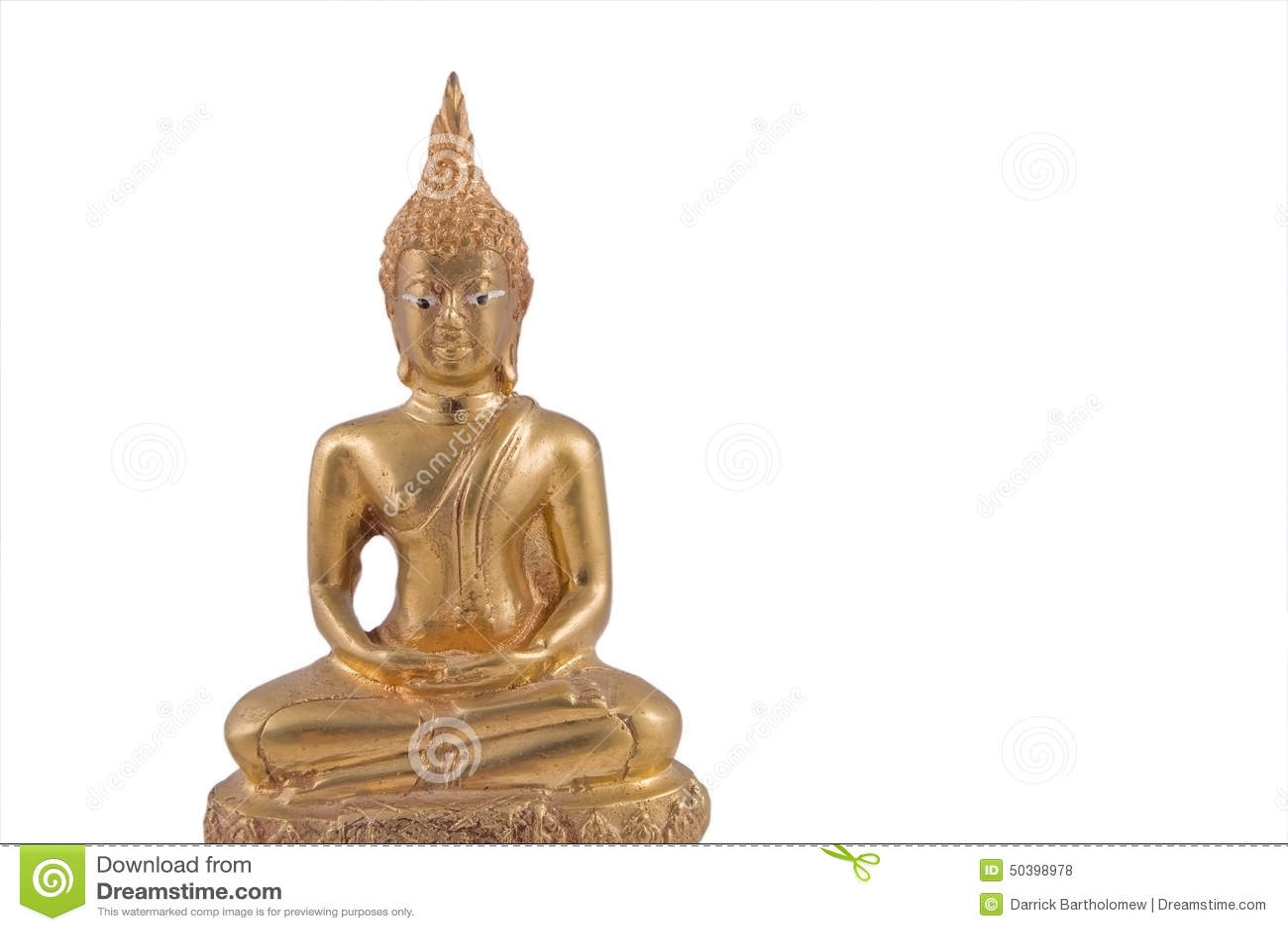 Or Thaïlande Bouddha