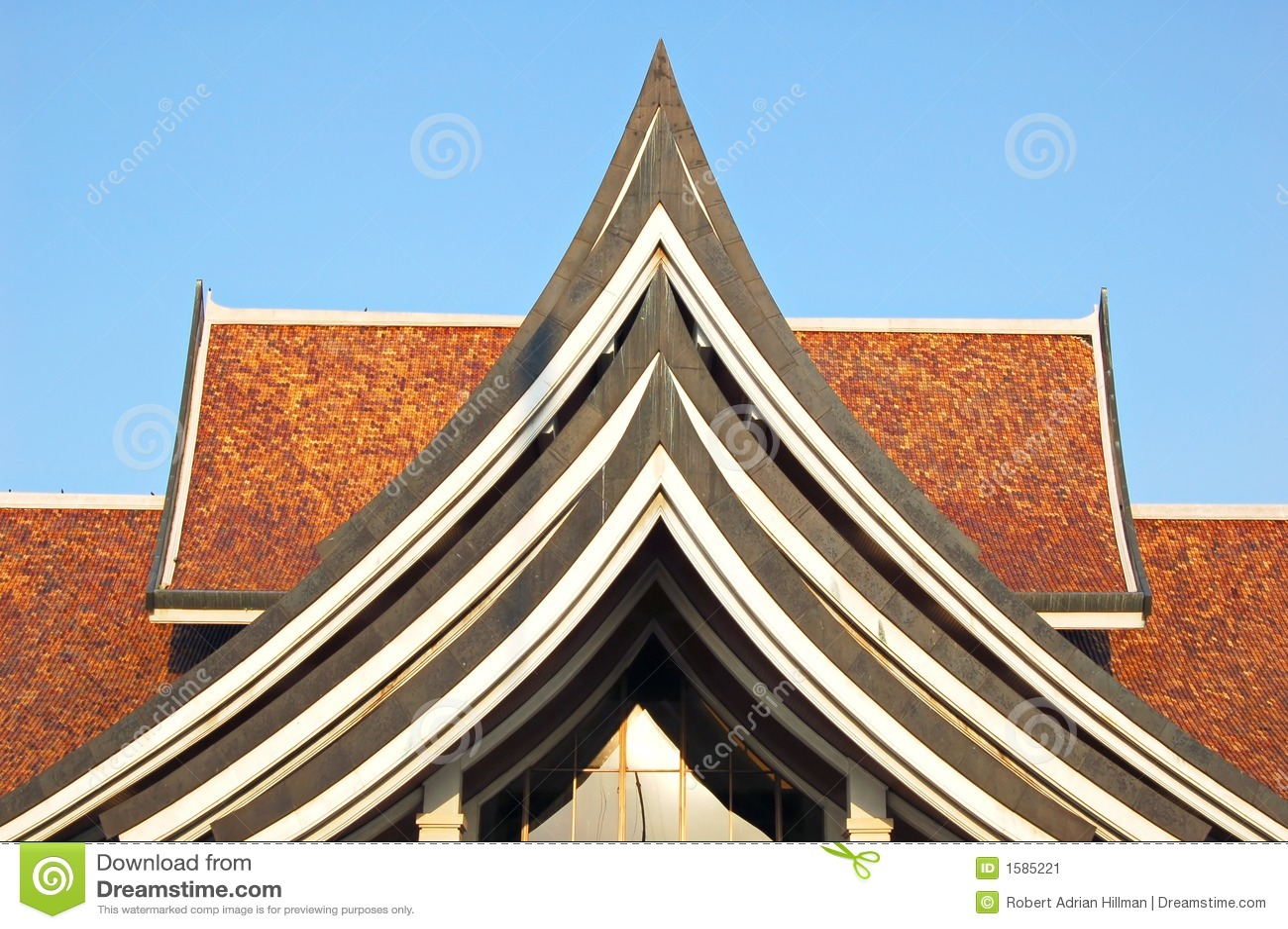 Thai architecture stock image image 1585221 for Thailand architecture