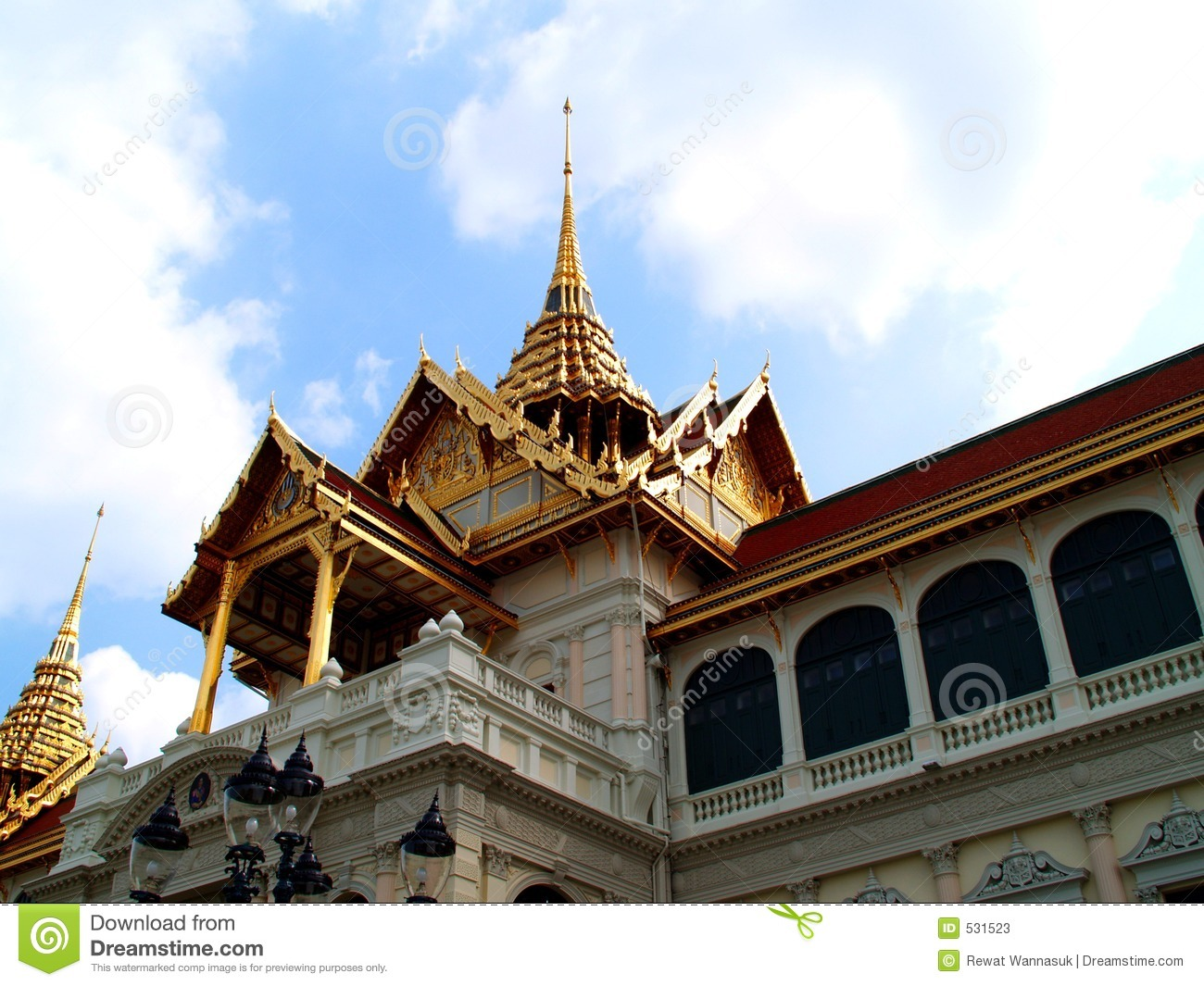 Thai architecture style 02 stock photos image 531523 for Wat architecture