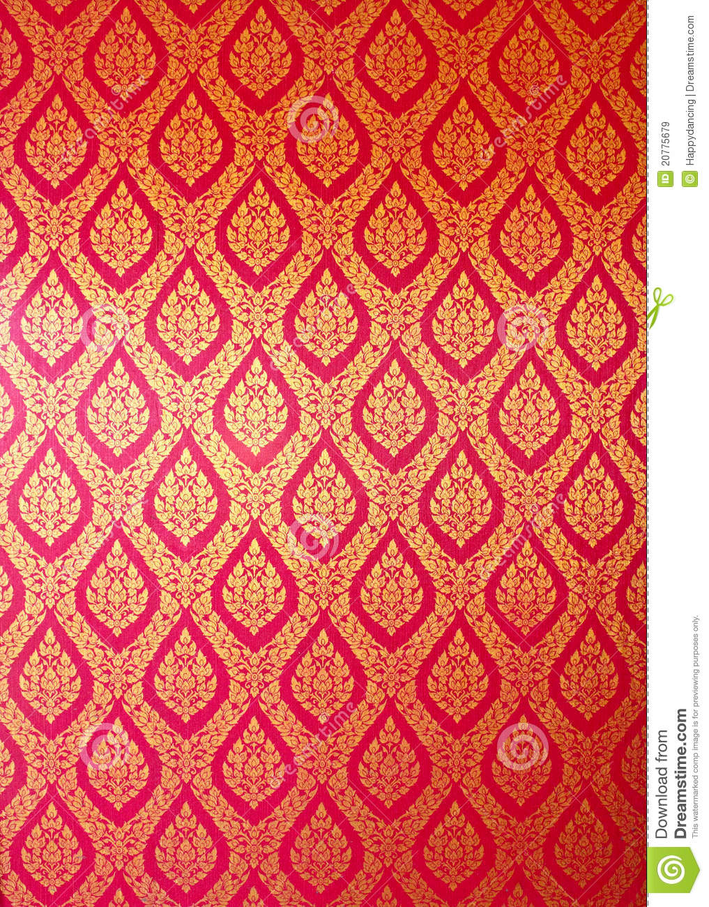 Thai Design Wallpaper : Thai art wall pattern royalty free stock images image