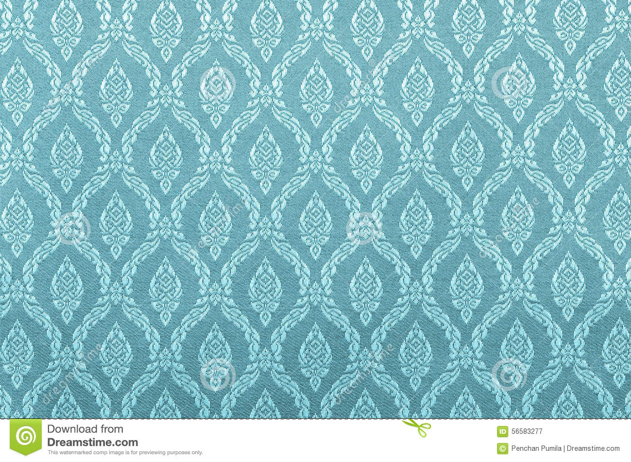 Thai Design Wallpaper : Thai art wall pattern for background stock photo image