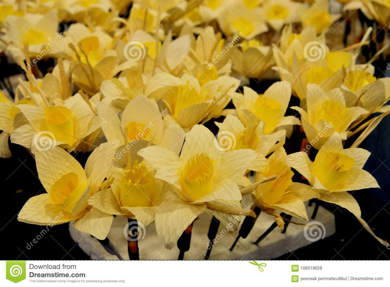 Thai artificial funeral flower dok mai chan stock photo image of download thai artificial funeral flower dok mai chan stock photo image of dead handmade izmirmasajfo
