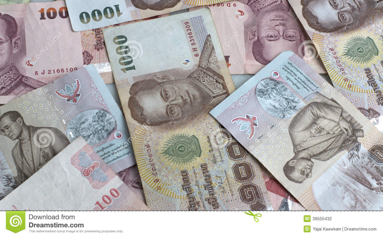 currency and thai baht