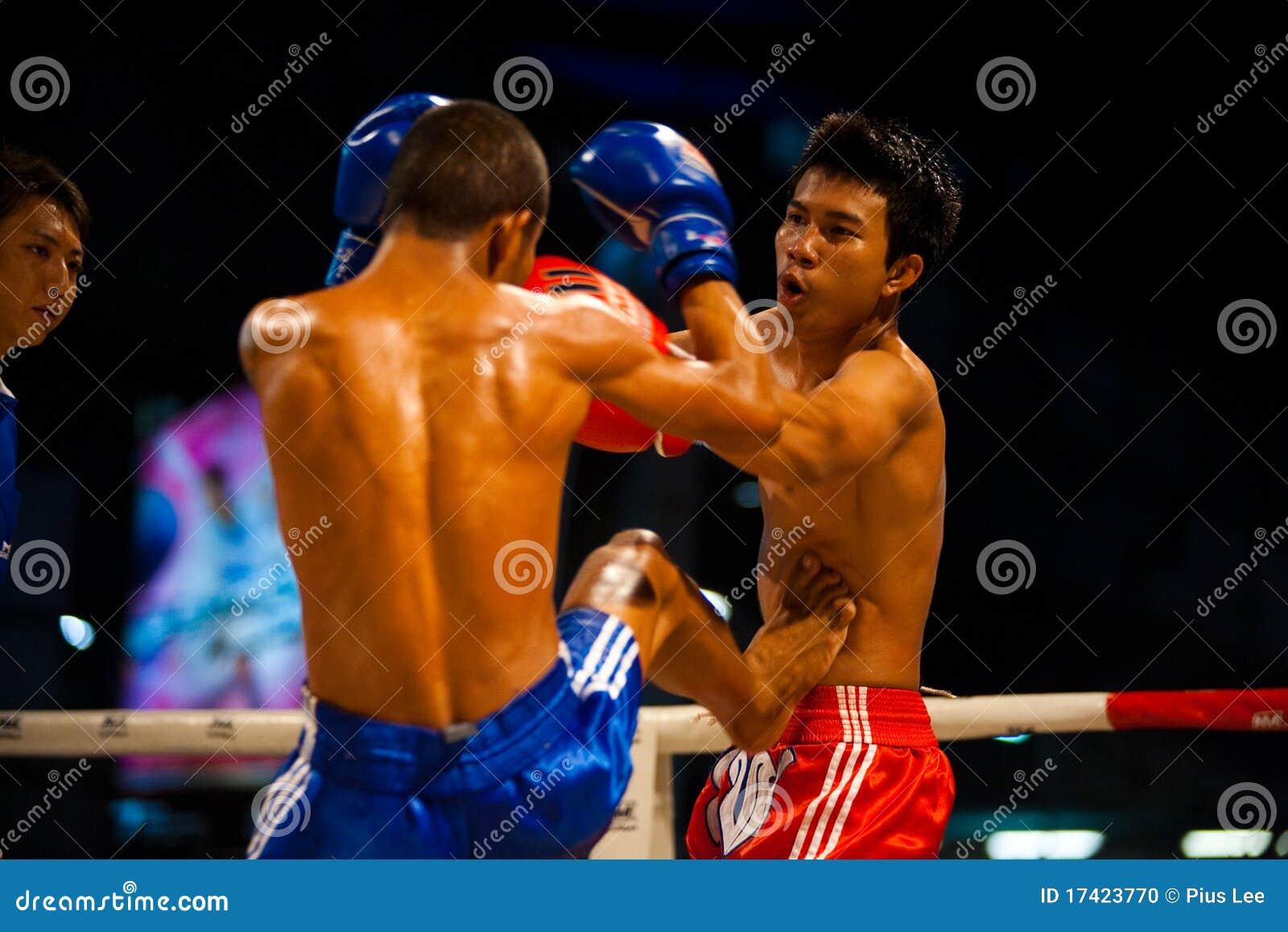 Thai boxas muay mage för kick