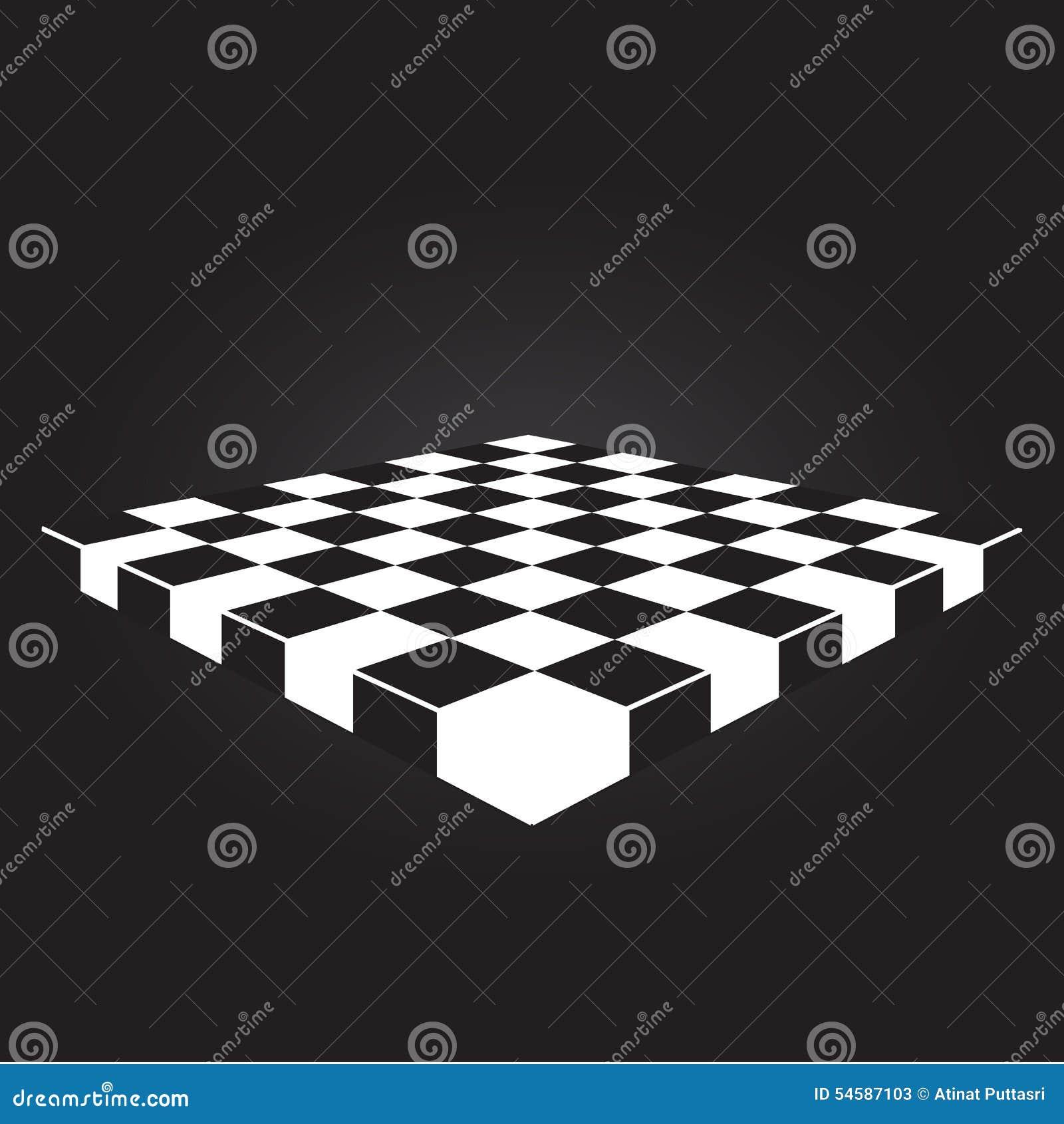 Classic Checkers, Board And Checkers. Vector Illustration ...