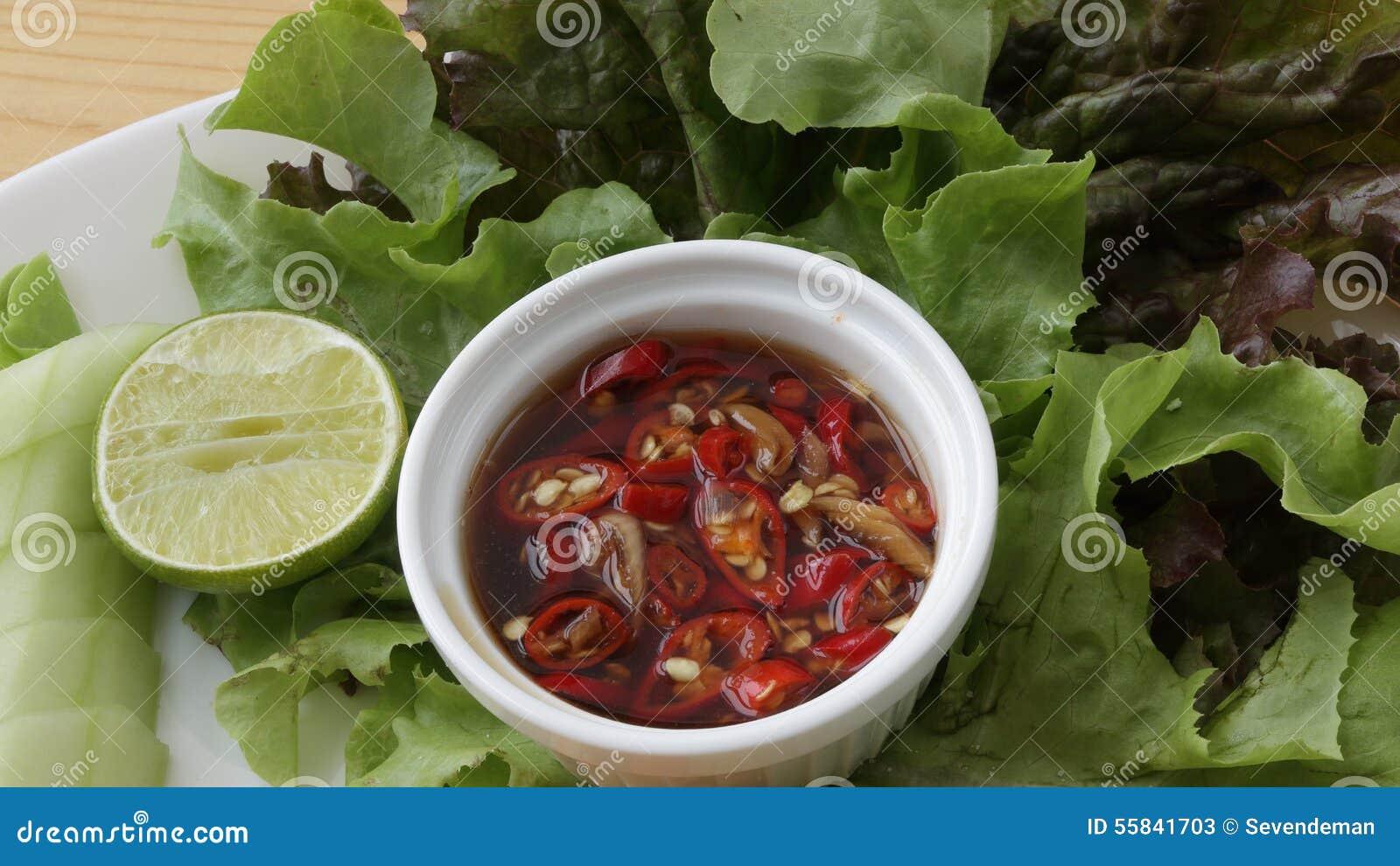 Thai chilli sauce.