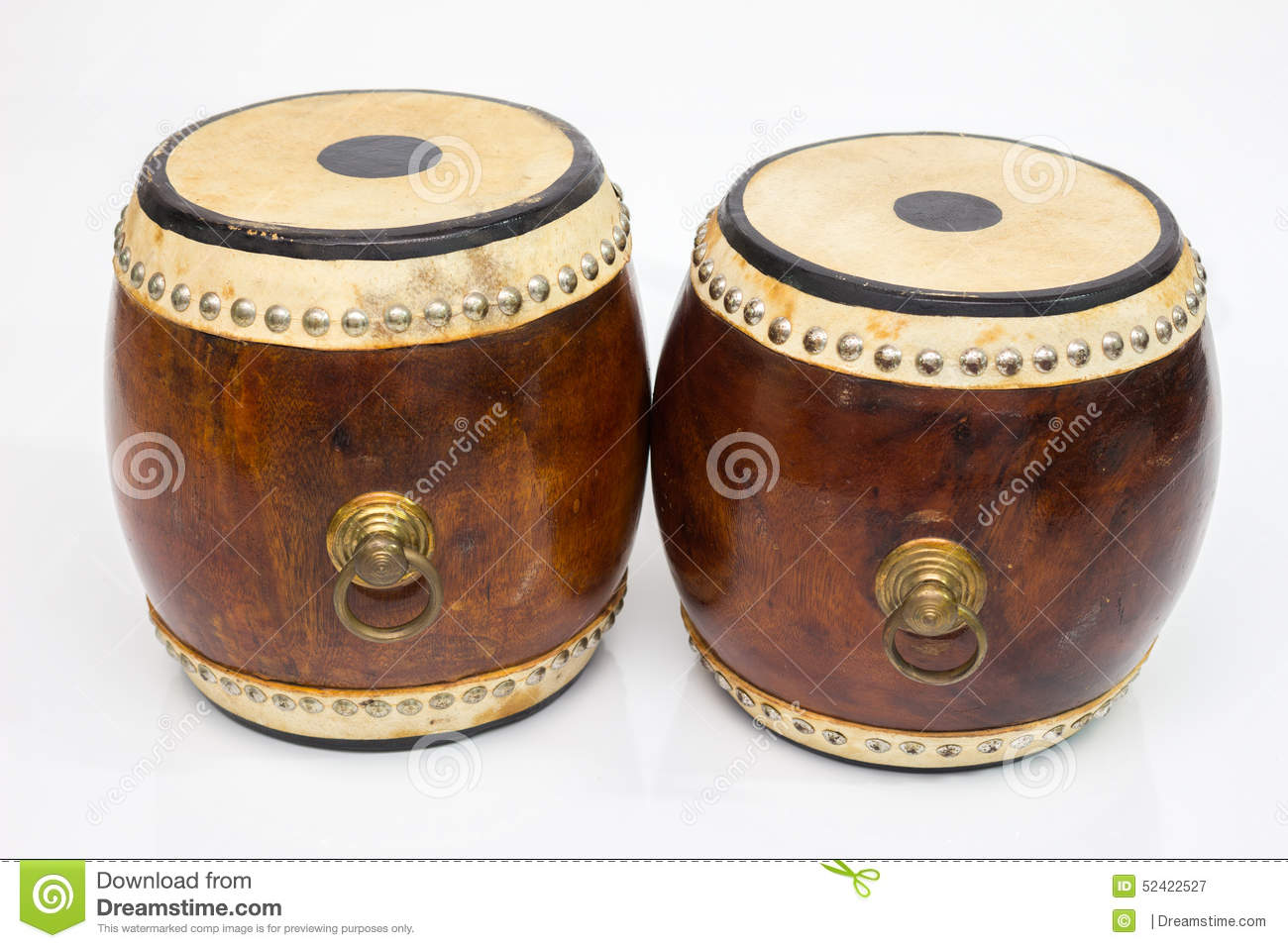 Thai Classical Music Instrument Drum Royalty-Free Stock ...