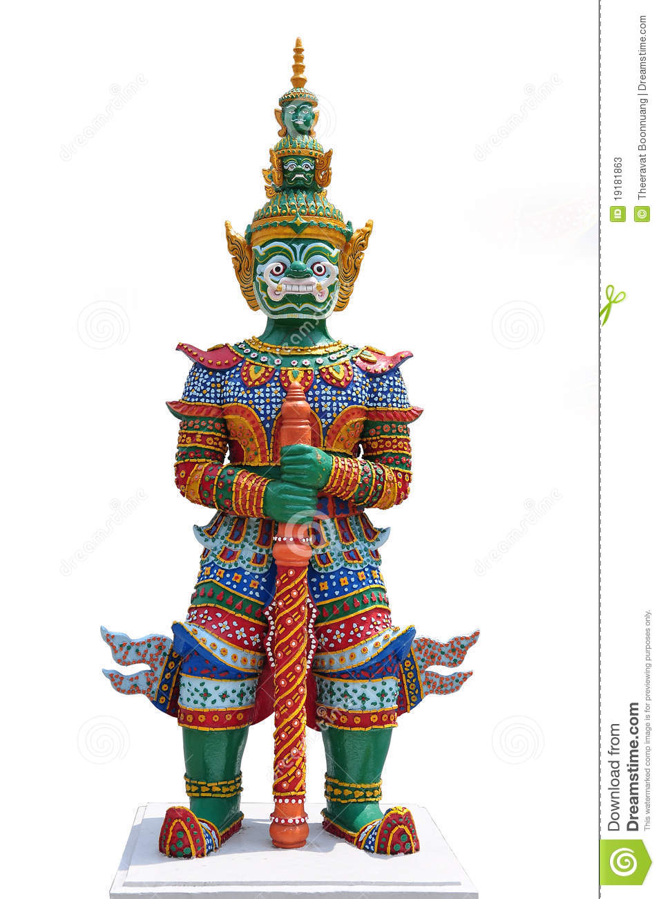 Thai Demon Warrior