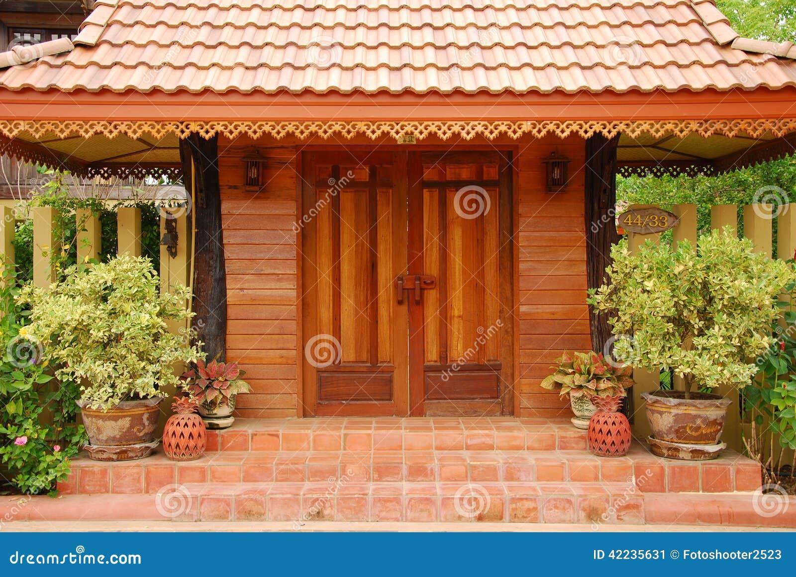 design door east garden place thai ... & Thai Door Design And Garden Stock Photo - Image: 42235631 Pezcame.Com