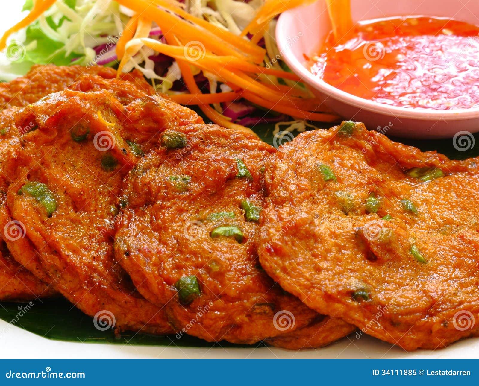 Thai Prawn Fish Cakes