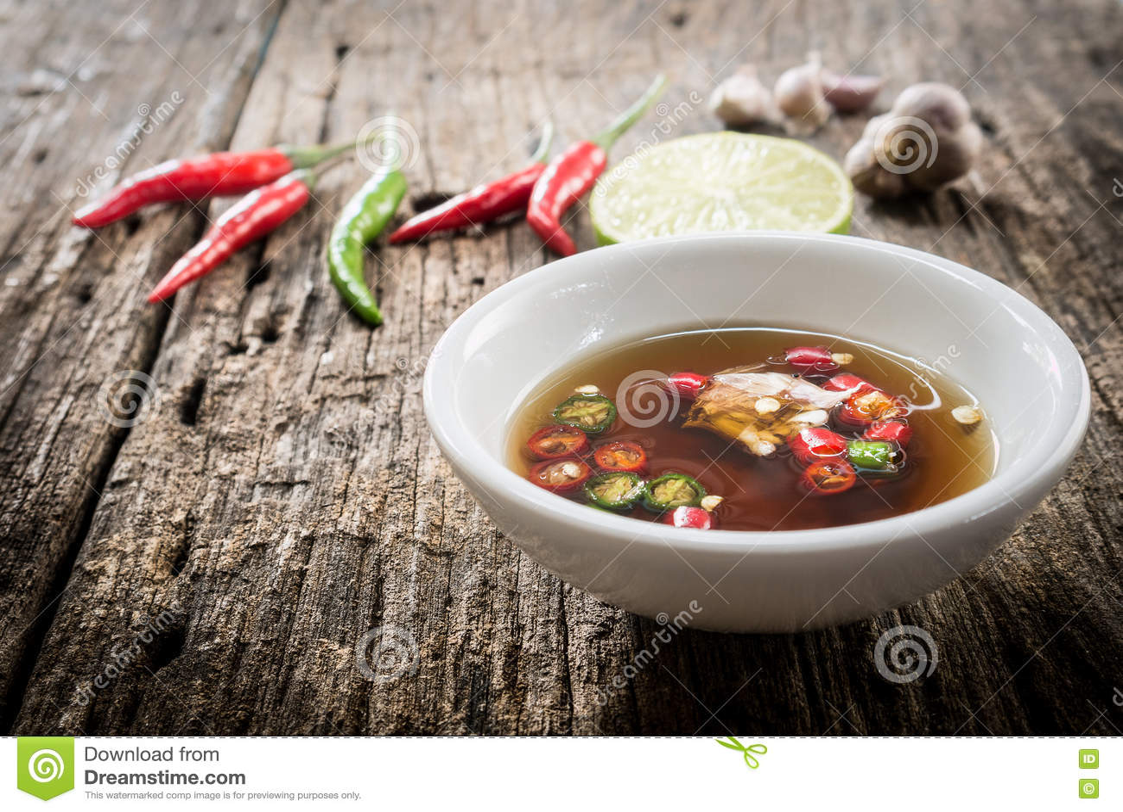 Thai fish sauce three taste stock photo image 73118538 for Garlic sauce for fish