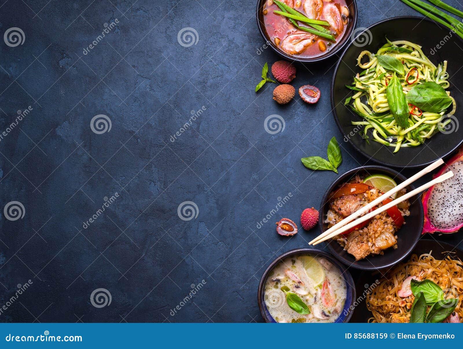Thai food background stock image. Image of milk, background - 85688159