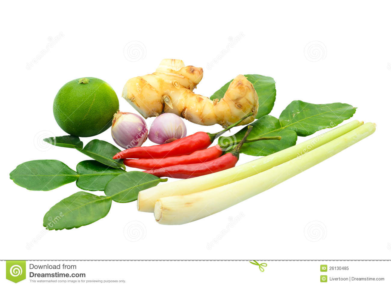 Thai food ingredient for tom yum kung stock image image for Cuisine 5 ingredients