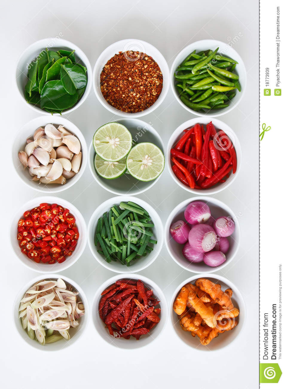 Thai food ingredients royalty free stock images image for 8 spices thai cuisine