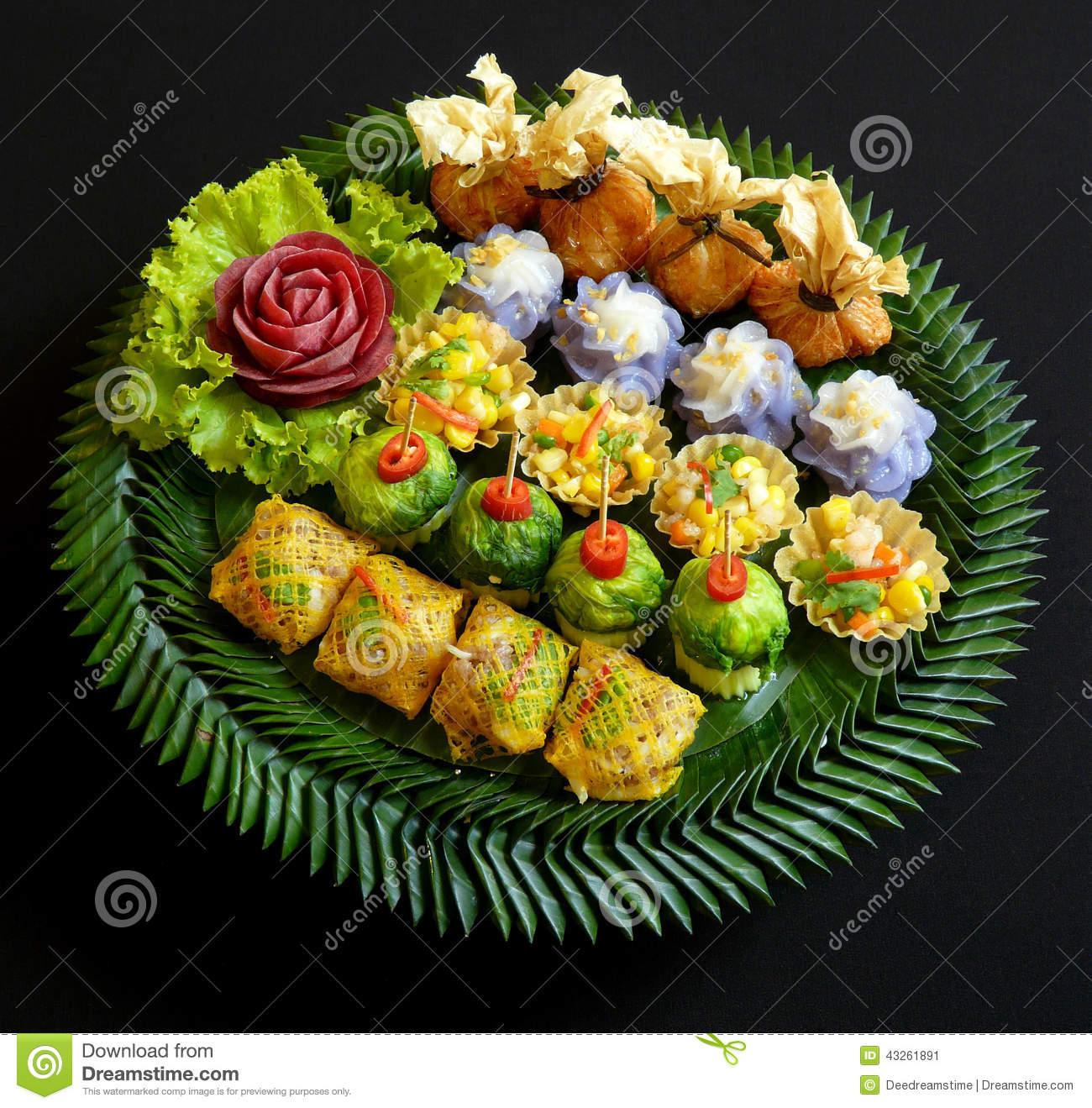 Thai Food Menu Items With Pictures