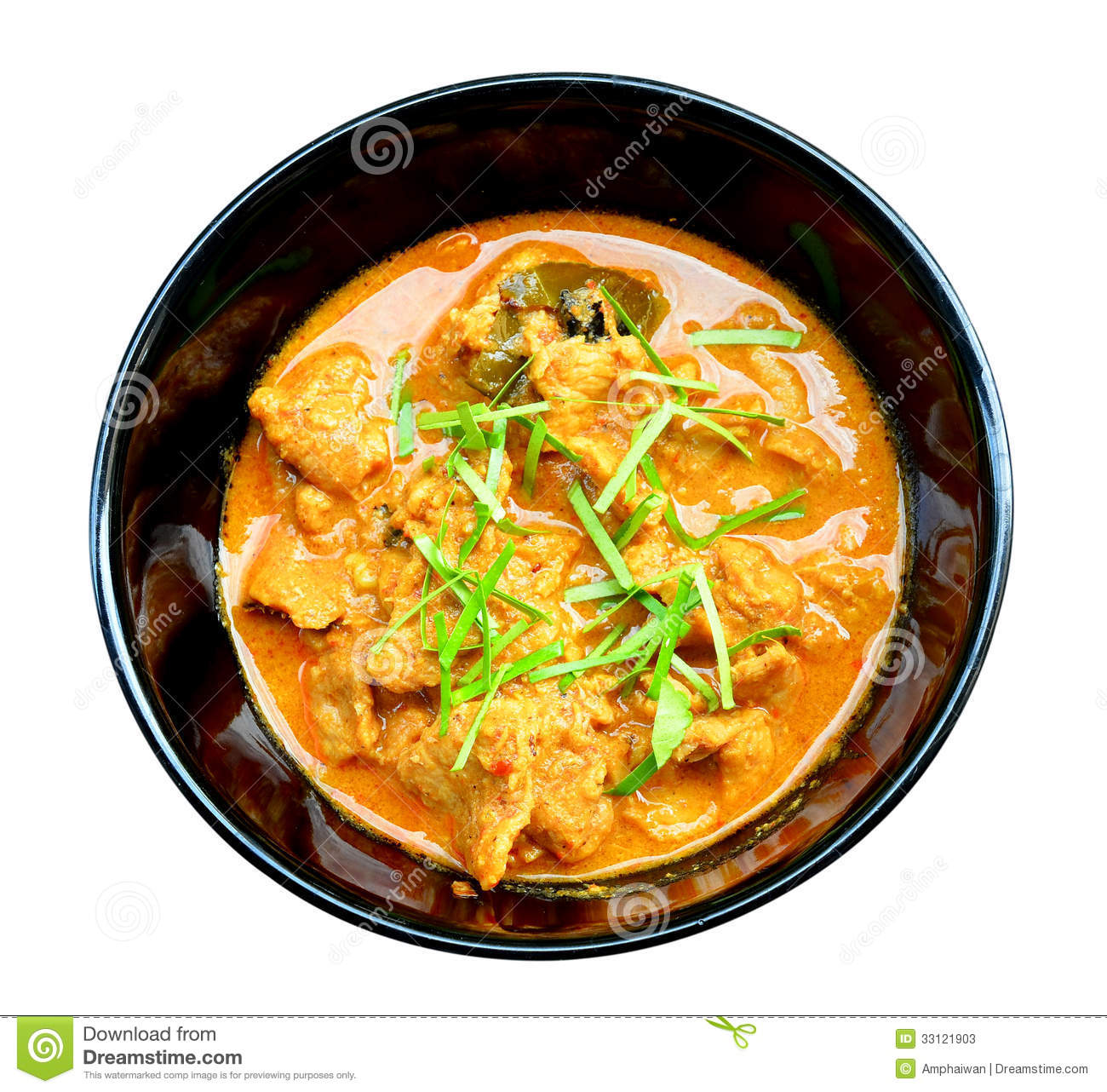 Panang Curry with Beef Recipe (Panang Neua),thai food.