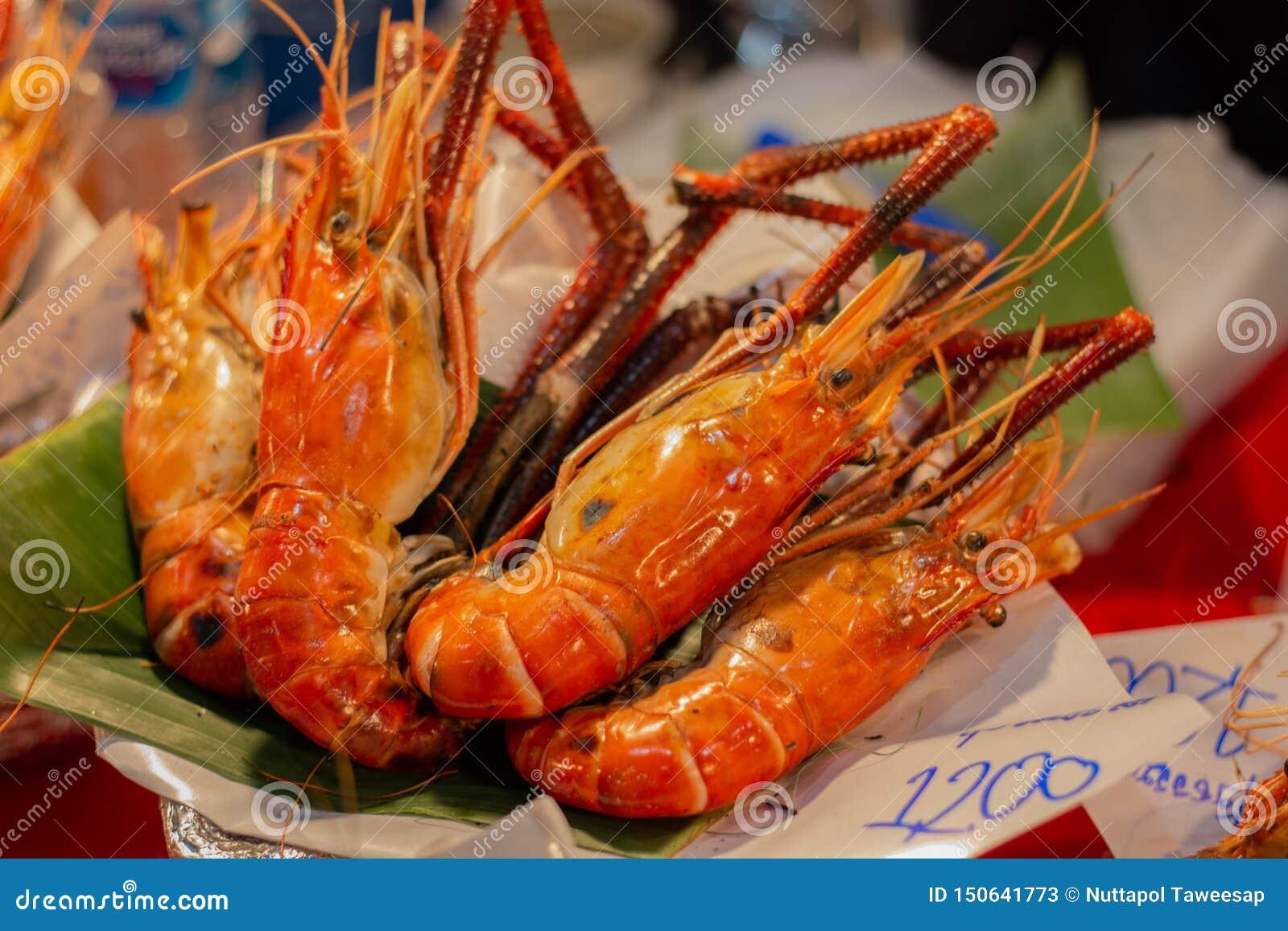Delicidous Grilled Shrimps