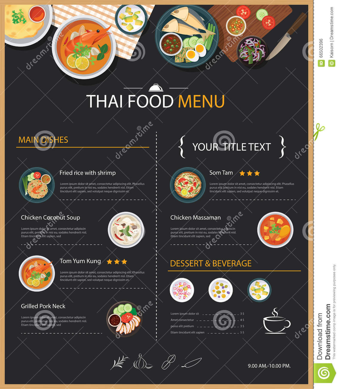 thai restaurant business plan This is a free sample business plan for ethnic food restaurants to see more business plan examples, business plan software, and other business planning tools visit.