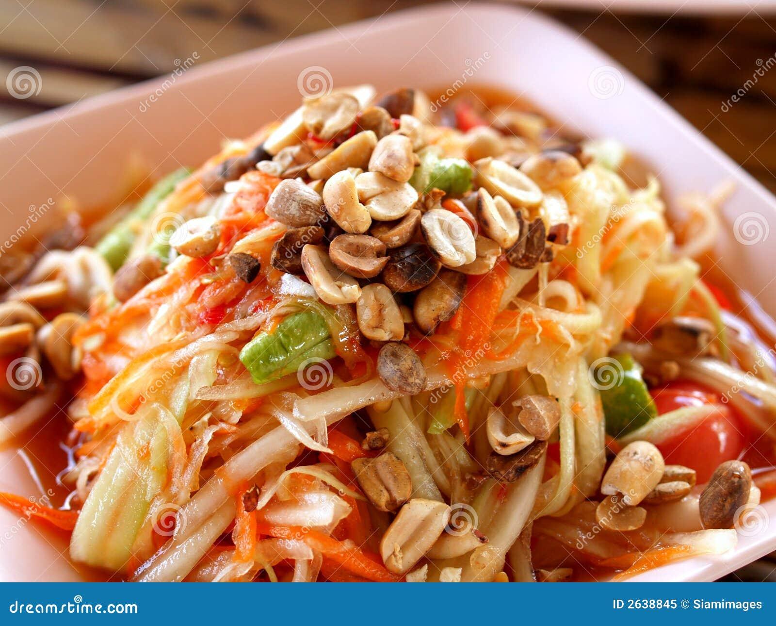 photo of delicious thai food somtum mr no pr no 2 5118 3