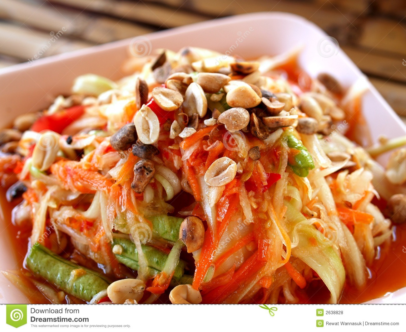 Thai food somtum royalty free stock photos image 2638828 for About thai cuisine