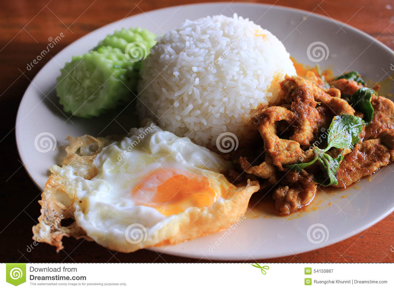 Thai food stock image image of grain rice dinner long for 8 spices thai cuisine