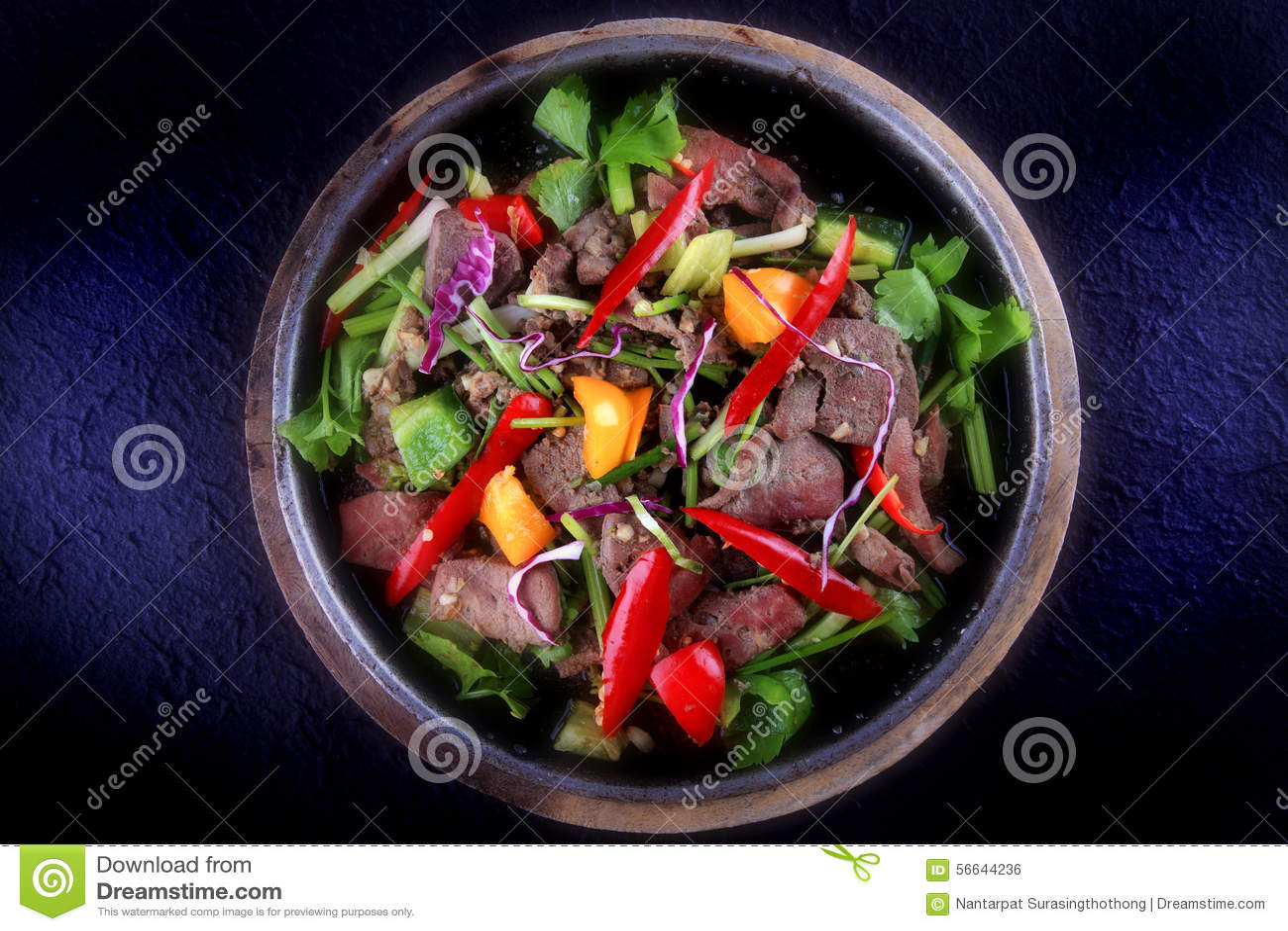 Celery In Thai Food