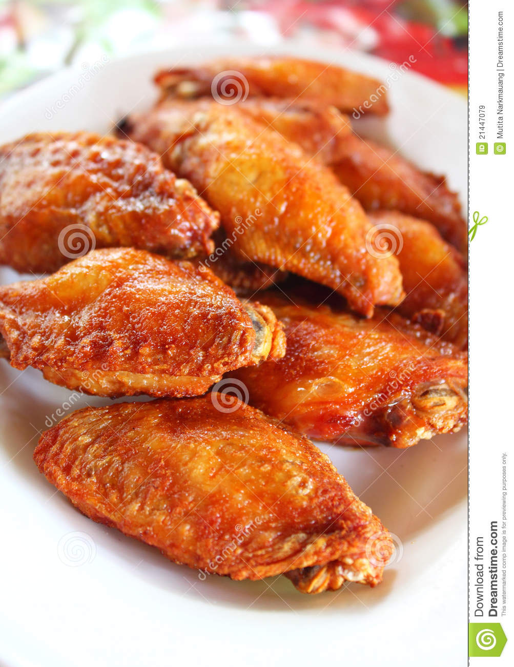 Thai Fried Chicken Royalty Free Stock Images - Image: 21447079