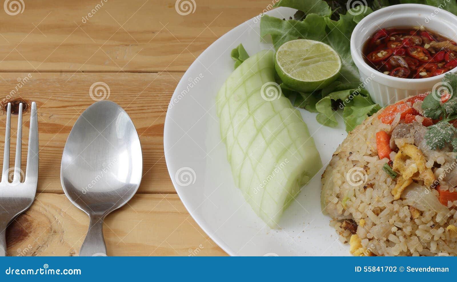 Thai fried rice.