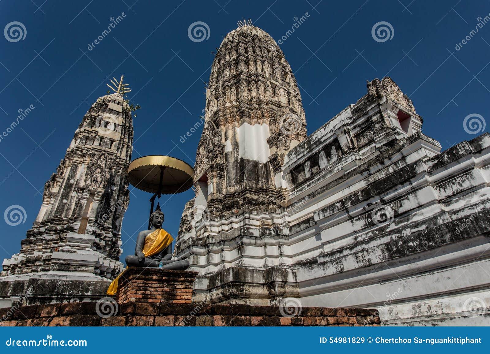 Thai gammalt tempel