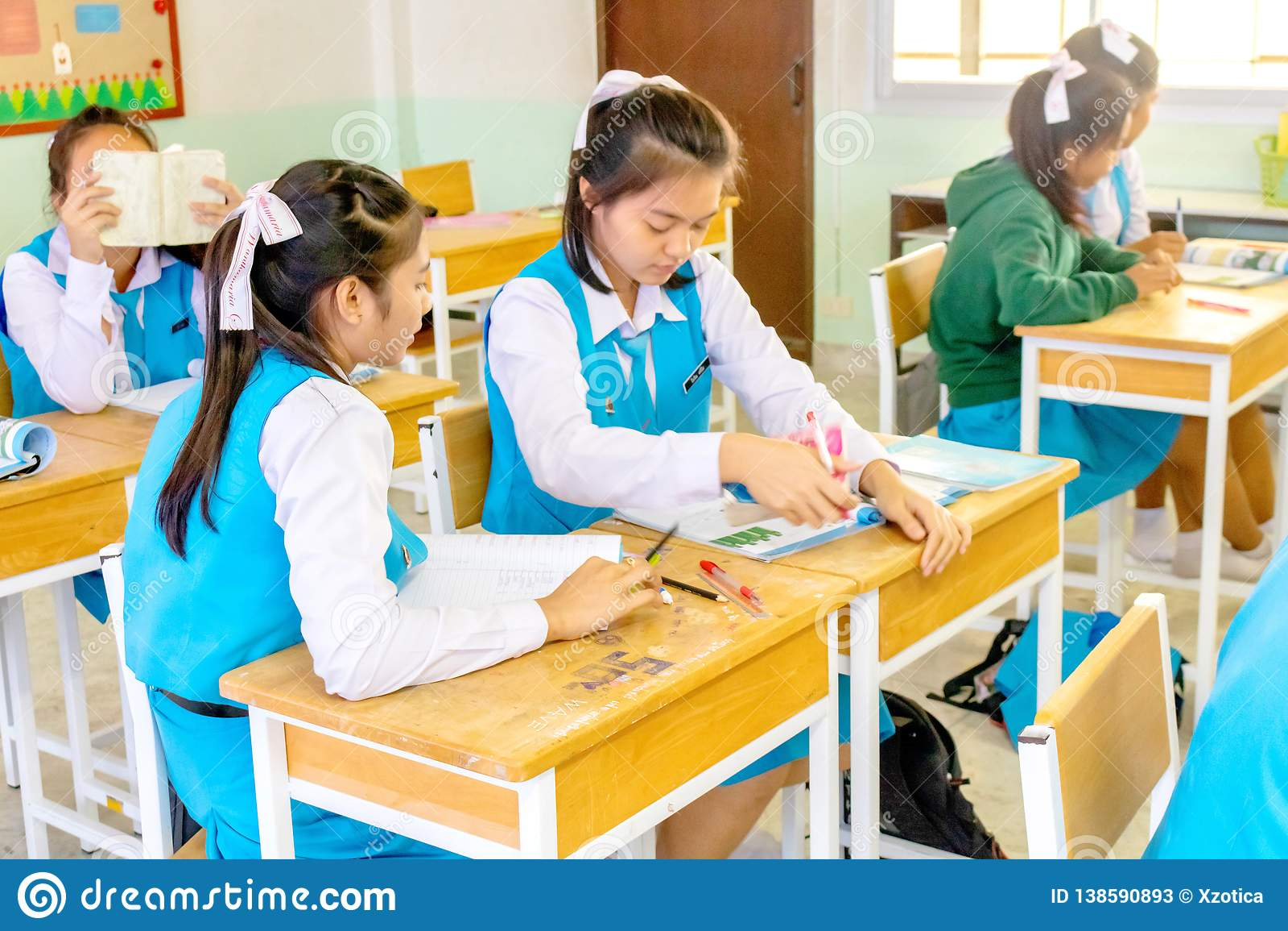School thai girl Etsy