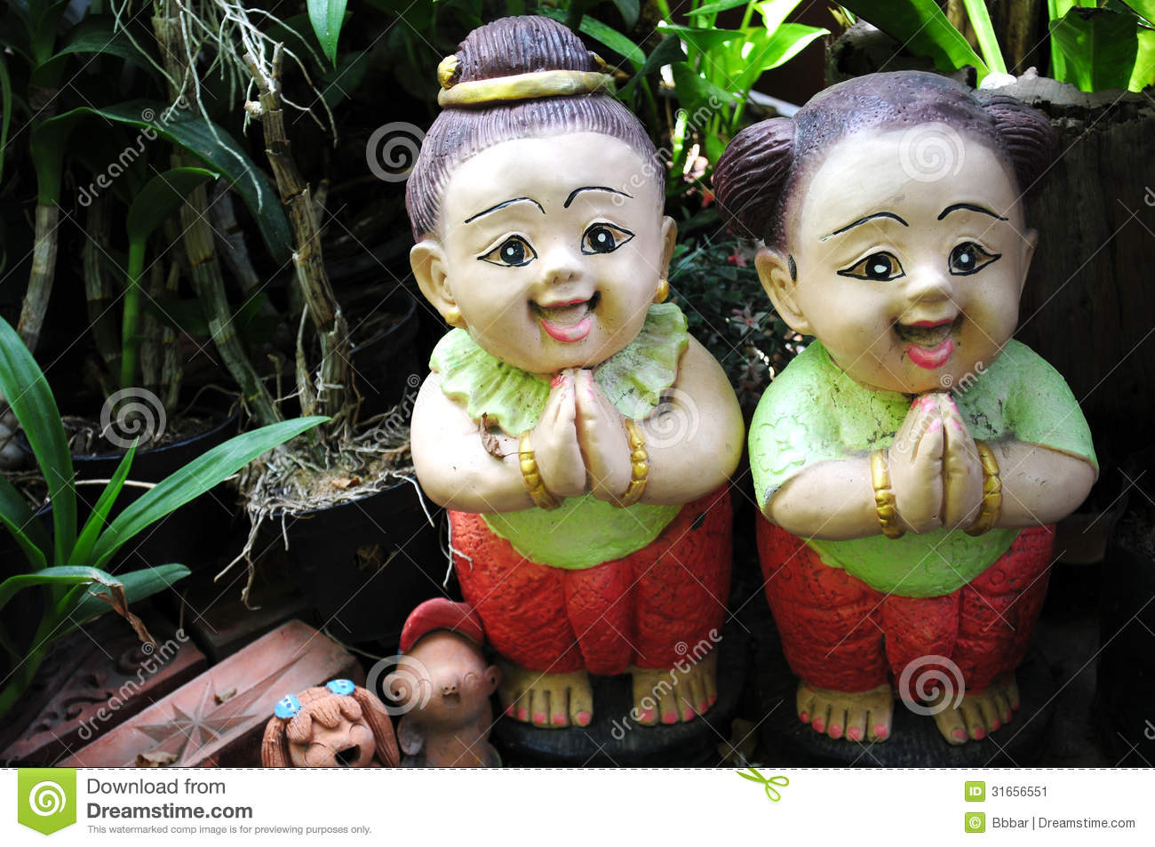 Thai greeting doll stock image image of nature asia 31656551 thai greeting doll m4hsunfo Gallery