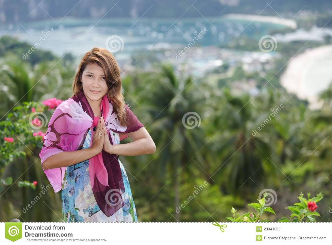 Thai greetings stock image image of girl forest person 23841663 download comp m4hsunfo
