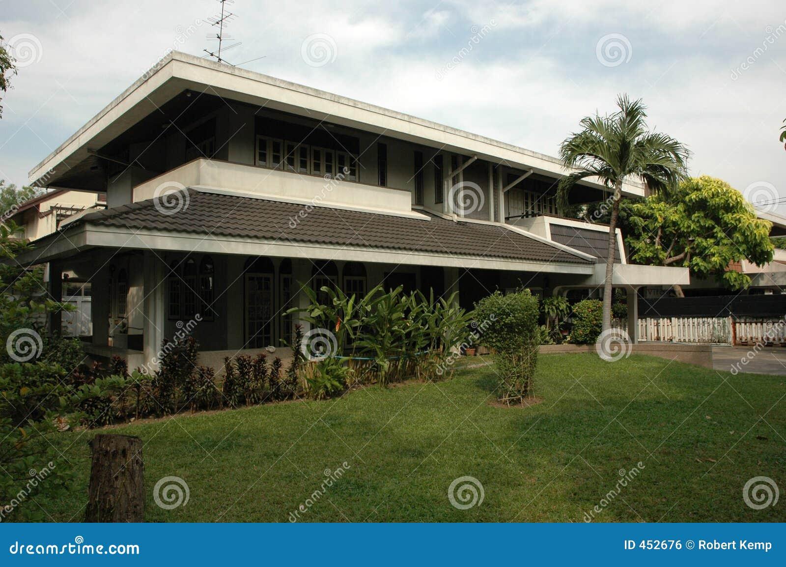 Thai House Royalty Free Stock Image Image 452676