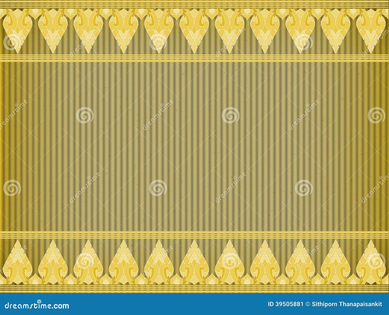 Thai Kra Jung card board texture
