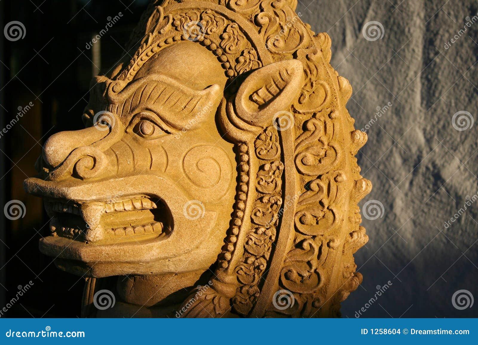 Thai Lion Statue 60