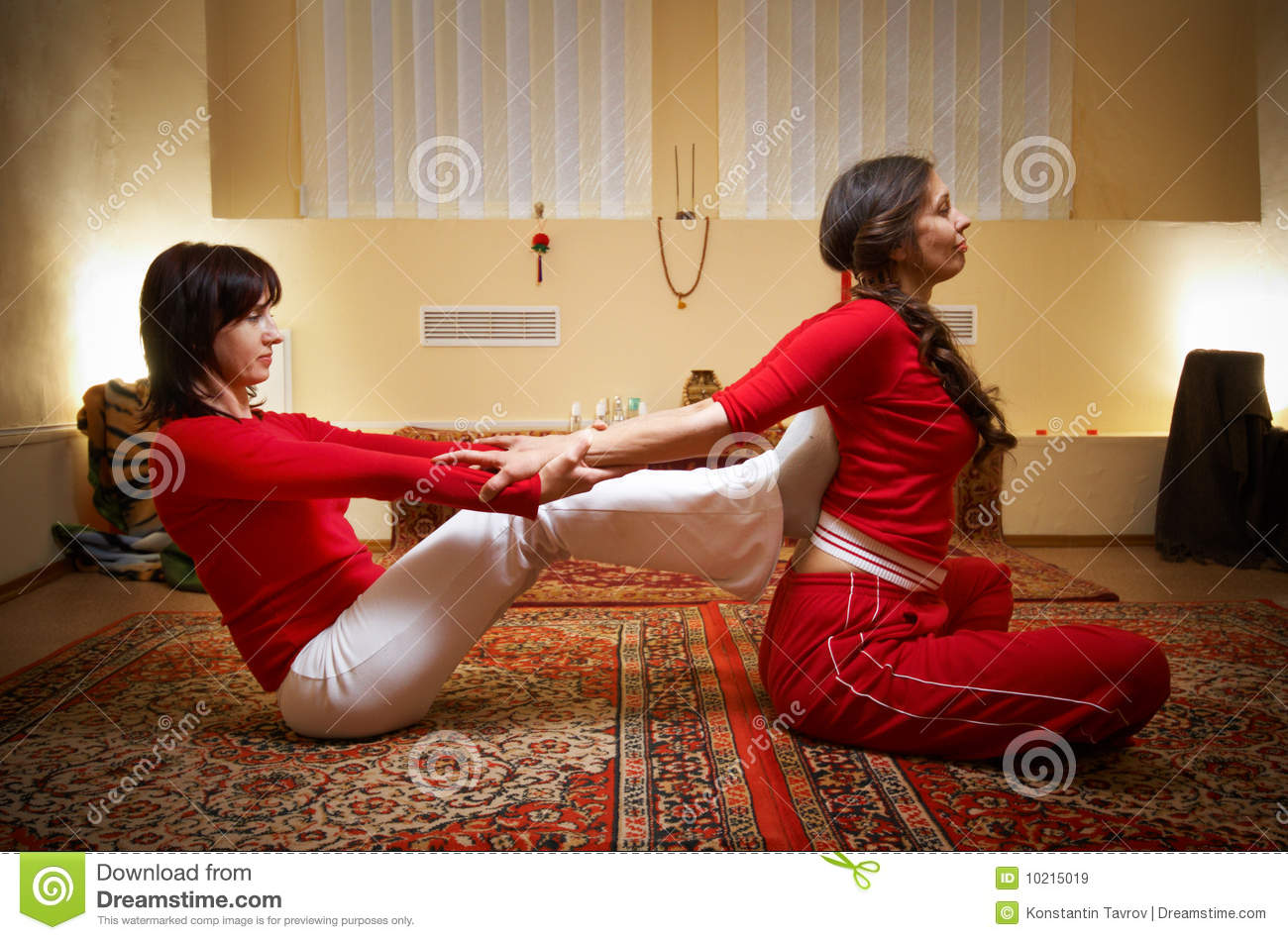 Thai Massage Royalty Free Stock Images Image 10215019