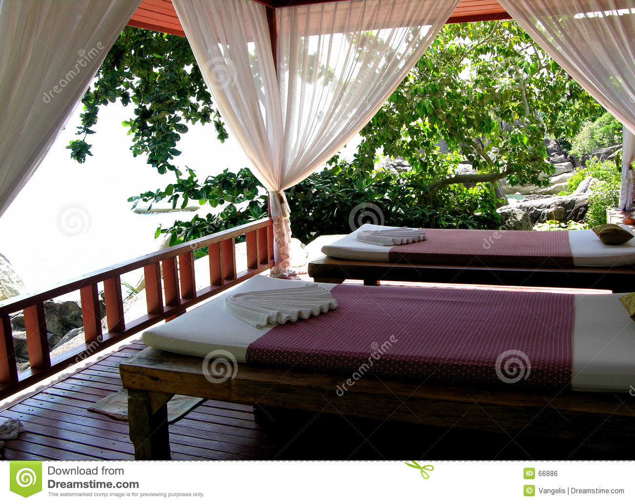 Download Thai Massage Area stock photo. Image of resort, pamper, muscles - 66886