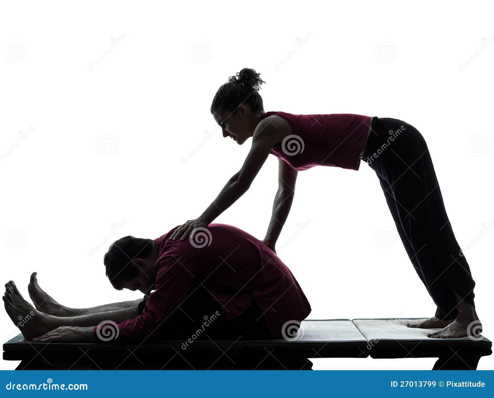 nong thai massage ball stretcher