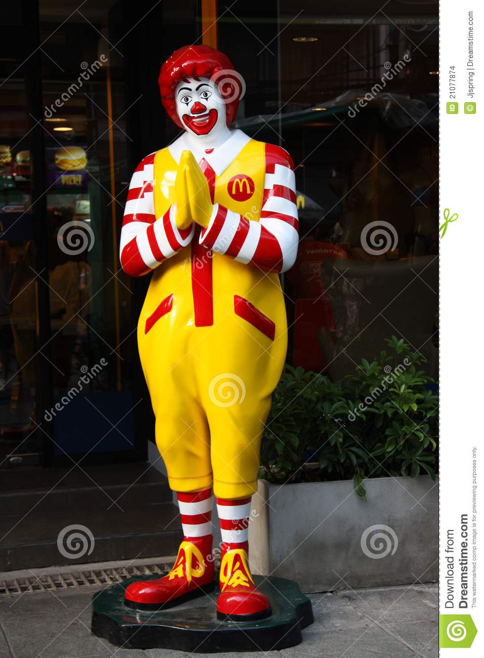 thai mcdonalds editorial stock image image 21077874